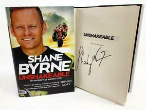 Signed Book - Unshakeable by Shane Byrne First Edition 1st Print