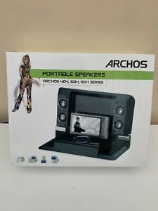 Archos 404 504 604 Player, Portable Speakers & Docking Station - No Charger