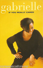 GABRIELLE - If You Really Cared (UK 2 Tk Cassette Single)