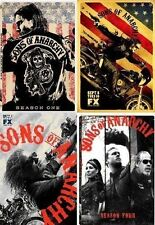 Sons of Anarchy ~ Complete Season 1-4 (1 2 3 & 4) ~ BRAND NEW DVD SETS