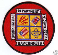 USNAVCOMMSTA PATCH, DIEGO GARCIA, COMMUNICATONS DEPARTMENT