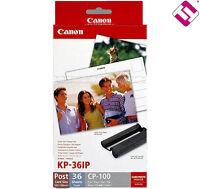 ORIGINALE Canon KP-108IN 4x6 108 foto per Selphy CP900 NAVI DAL REGNO UNITO