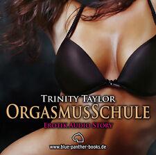 OrgasmusSchule | Erotisches Hörbuch 1 CD von Trinity Taylor | blue panther books