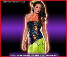 FANCY DRESS COSTUME # HAWAIIAN LUSCIOUS LUAU SM 8-10