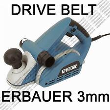 2x DRIVE BELTS for ERBAUER SCREWFIX ERB905D 3mm PLANER Cheap Repair NEXT DAY