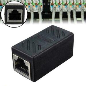 RJ45 Inline Extender Coupler Cat6 Cat5e Ethernet Network Joiner Adapter O4I4