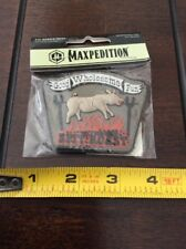 """MAXPEDITION MORALE PATCH GOOD WHOLESOME FUN """" SPIT ROAST"""" PATCH NEW"""