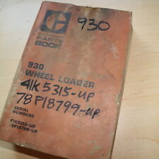 Cat Caterpillar 930 Wheel Loader Parts Manual Book Catalog Front End Spare List