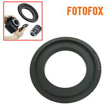 52mm Macro Reverse Ring For Micro 4/3 Panasonic G10 GF3 GH2 Olympus E-PL3 E-PM1