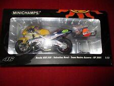 Minichamps ® 122 016146 1:12 honda nsr 500 V. rossi equipo Nastro azzurro gp 2001