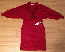 NWT - Evan Picone Red Sweater Dress - M