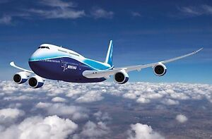 BOEING 747 PLANE POSTER  (A3 - 420X297MM) + A FREE SURPRISE A3 POSTER (1)