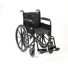 Drive S1 Self Propelled Wheelchair With Mag Wheels Padded Armrests