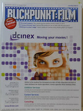 BLICKPUNKT FILM  21 + 22 / 13 MOVING YOUR MOVIES DCINEX.COM (BF269)
