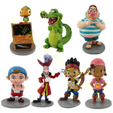 7 Pcs Jake and the Never Land Pirates Action Figure Model Cake Topper PVC