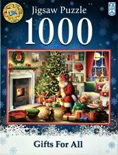 NEW FX Schmid Gifts for All 1000 Piece Christmas Jigsaw Puzzle XMas Festive GIFT