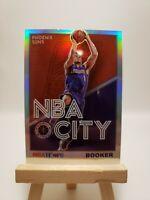 2019-20 Hoops Premium Stock Devin Booker NBA City Silver Holo #26 Phoenix Suns