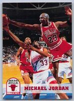 1993-94  MICHAEL JORDAN - NBA Hoops Basketball Card # 28 - CHICAGO BULLS GOAT