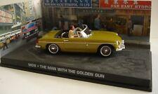007~JAMES BOND THE MAN WITH THE GOLDEN GUN MGB 1/43 Die Cast