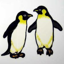 Penguin DIY Rub On Permanent Transfer Glass Tile Scrapbooking Plastic DT25