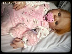 Reborn baby girl doll,ginger hair toddler, Jessie by Donna Rupert quality reborn
