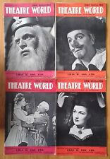 Selection of individual Theatre World magazines from the 1940s