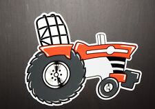 """MASSEY FERGUSON PULLER"" - Original Artwork DECAL/STICKER ""Tractor Swag"" RIGHT"