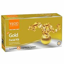 VLCC Herbal Gold 6 Step Facial Kit for LIMINOUS & Radiant Complexion 120 Gram