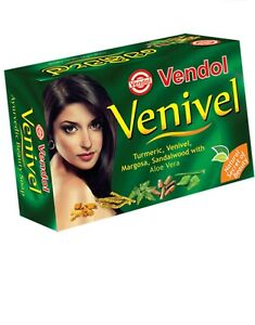 80 g *4 VENIVEL SOAP Herbal Ayurveda  Beauty Soap Pure Natural from Sri Lanka