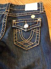 LA IDOL USA crystal horseshoe  women's denim blue jeans size 3 #20