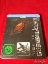 Transformers Trilogy Blu-Ray Steelbook/Steelcase, deep 3D cover, Region Free