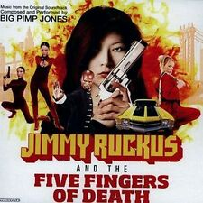 Big Pimp Jones - Jimmy Ruckus And The Five Fingers Of Death LP