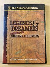 The Arizona Collection Legends & Dreamers Highways Pbs Kaet Phoenix Dvd | Sealed