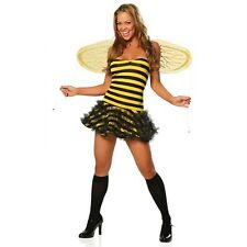 ADULT sexy ROMA happy BUMBLE honey QUEEN bee WASP hornet PARTY halloween COSTUME