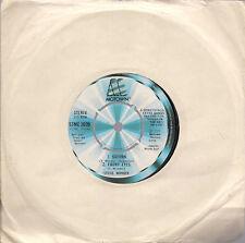 """Stevie Wonder Saturn / Ebony Eyes / All Day Sucker / Easy..4 UK 45 7"""" single"""