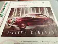 1951 DAIMLER REGENCY  Original Sales Advert UK