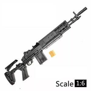 """1/6 Scale M14BER MK14 Rifle Gun Weapon Military For 12"""" Action Figure Soldier UK"""