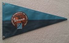 Bandierina, gagliardetto Vintage American Federation of Vespa Clubs