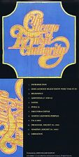 Chicago Transit Authority Von 1969! Digital remastered! Rhino-Qualität! Neue CD!