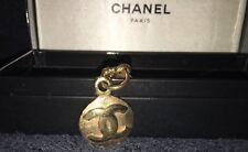 CHANEL Bracelet Vintage CC Logos Gold Chain Accessories Charm France
