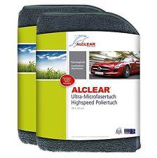 ALCLEAR® 2-er Set Ultra-Microfaser HIGHSPEED POLIERTUCH anthrazit 40x40 822203H
