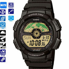 Casio aviator watch sport running travel worldwide trail timex g shock explorer