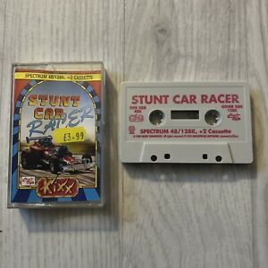 Stunt Car Racer by Kixx - Zx spectrum 48k 128k Game, Rare Release Title,