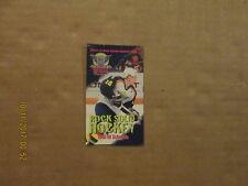 Ahl Beast Of New Haven Vintage Defunct Circa 1998-99 Logo Hockey Pocket Schedule
