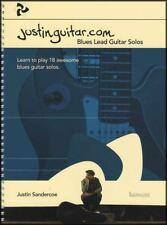 Justinguitar.com Blues Lead Guitar Solos TAB Music Book Justin Sandercoe