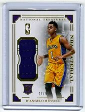 2015-16 D'Angelo Russell National Treasures Patch /99 Jumbo Gold LA Lakers RC NT