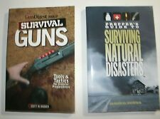 2 BKS: Gun Digest Bk of Survival Guns & Prepper's Gd to Surviving Natural Disast