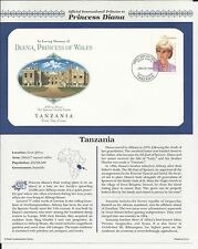 TANZANIA PRINCESS DIANA MEMORIAL First Day Cover (5402)