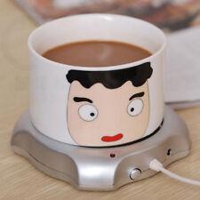 USB Electric Cup Office Coffee Tea Mug Warmer Coasters Heating Cup Mat Pad