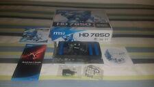 TARGETA GRAFICA MSI RADEON HD 7850 2GB GDDR5 PCI-E 3.0